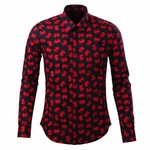 Crab Printed Dress Shirt