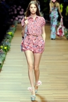 Runway Floral Printed Romper (On Sale)