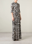 Amina Silk Jersey Maxi Dress