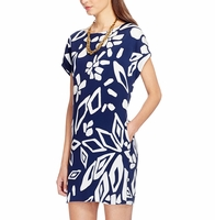 Diane von Furstenberg Blue Harriet Silk Tunic Dress