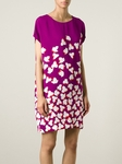 Diane von Furstenberg Floral Harriet Silk Tunic Dress