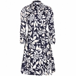 DIANE VON FURSTENBERG Jadrian cotton wrap dress