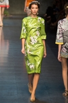 Runway Floral Print Dress