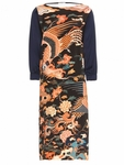 Duval Digitally Printed Silk Dress