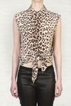 Equipment Animal Diem Leopardprint Blouse