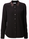 Black Embellished Shirt