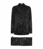 Equipment Black Vivian Astronomy Silk Pyjamas