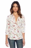 EQUIPMENT BRETT CLEAN FLORAL CADENCE BLOUSE