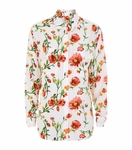 Equipment Floral Print Signature Shirt
