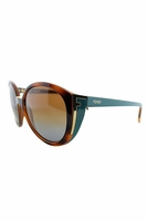 Fendi Cecelia Sunglasses In Havana