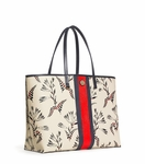Floral Kerrington Stripe Square Tote