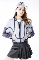 Gauze Stitching Jacket