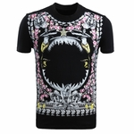 Black Rose and Mermaid Print Tshirt