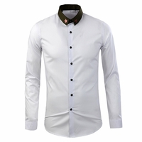 Con Stampa Stars Dress Shirt