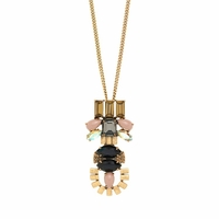 Gold Modernism Necklace
