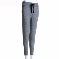 Gray Cashmere Leggings