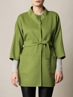 Green Lipari Coat