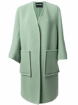Green Pocket Coat