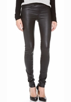HELMUT LANG Faux-Pocket Leather Leggings
