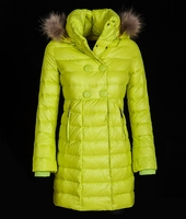 Hooded Fur Padded Coat (On Sale)