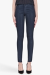 J Brand Coated Blue Turbulent Patriot Leggings