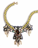 J CREW CITRON STONE STATEMENT NECKLACE