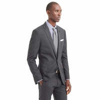 J CREW LUDLOW SUIT JACKET WITH CENTER VENT IN ITALIAN WOOL