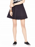 Kate Spade Black Scuba Circle Skirt