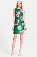 kate spade blooms della floral print sheath dress