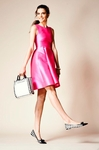 kate spade hot pink paris roset dress