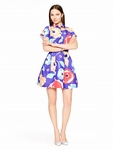 Kate Spade Multicolor Multi Floral Shirtdress - 5.4