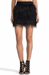 Kate Spade Ostrich Feather Skirt - 9.5