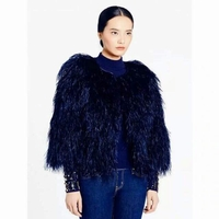 Kate Spade Ostrich Feathers Coat