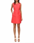 Kate Spade Pink Sleeveless Embellished Mindy Dress