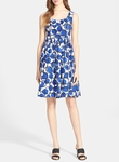 Kate Spade Stamped Dots fit and flare dress - 6.6