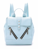 Kenzo  Glacier Blue Leather Backpack