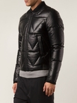 KENZO Padded Bomber Leather Jacket