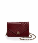 Kira Quilted Leather Chain Shoulder Bag