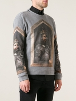 Knight Print Sweatshirt
