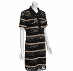Lace Shirt Dress (On Sale)