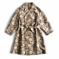 Gold Lace Oversize Wrap Coat
