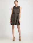 Gray Metallic Tweed Dress (On Sale)