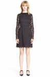 Marc By Marc Jacobs Black isabella Lace Fit Flare Dress
