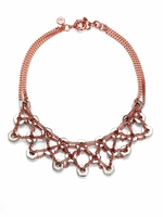Marc by Marc Jacobs Bolts Bib Necklace