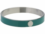 Classic Marc Skinny Enamel Disc Bangle