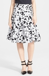 MARC BY MARC JACOBS Print Cotton A-Line Skirt - 5.28