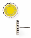MARC BY MARC JACOBS Scalloped Disc-O Stud Earrings