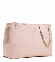 Marion Chain-Shoulder Slouchy Tote