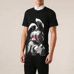 Cotton Jersey Angry Bunny T-Shirt