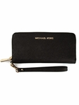 Michael by Michael Kors Black Jet Set Wristlet Wallet